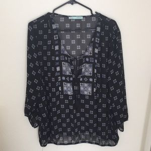 Maurices 3/4 sleeve top